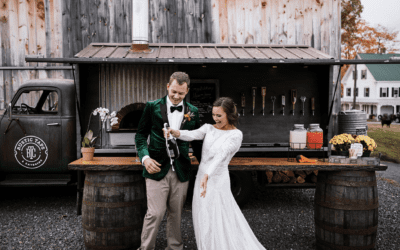 Shyann and Joey Vow Renewal at Maple Rock Farm in Parsonsfield, Maine
