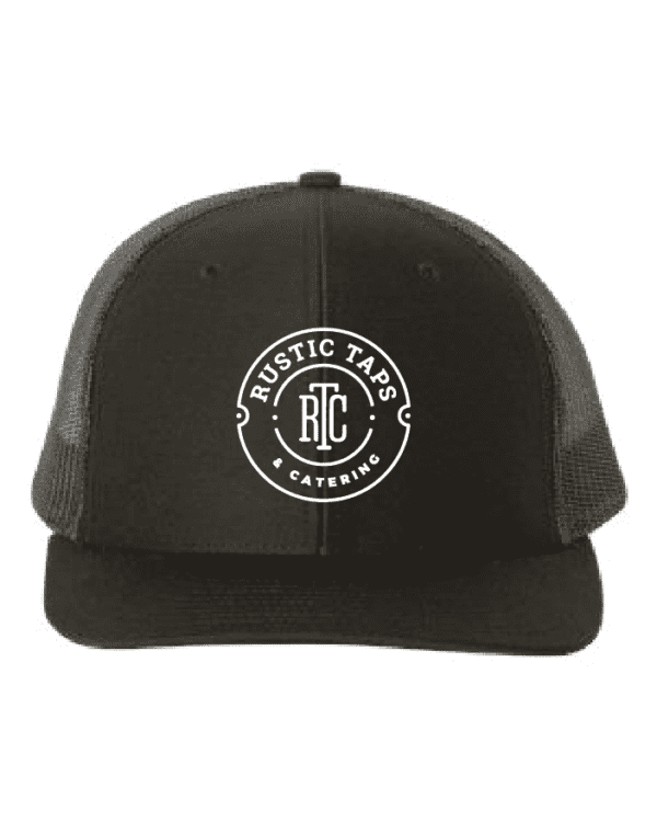 rustic taps maine trucker hat